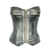 zipper corset obj