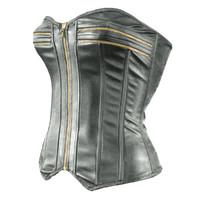 zipper corset 3d model