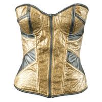 golden corset 3d model