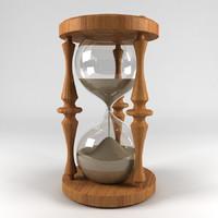 hourglass obj