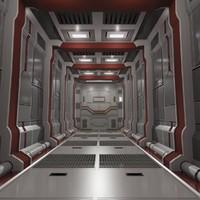 sci fi corridor 03