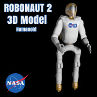 robonaut nasa 2 leg 3d model