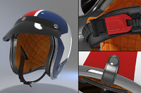 max retro motorcycle helmet