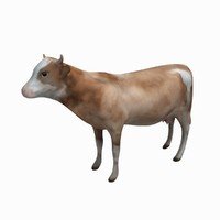 cow animation 3d max