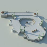 3d model masjidil haram
