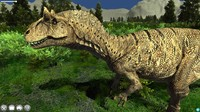 3d accurate allosaurus model