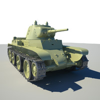 free max model tanker bt 7 battle