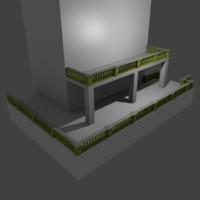 railin 3d dxf