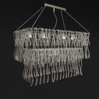3d model chandelier medusa