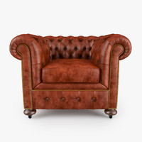 3d william blake armchair model