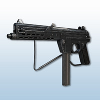 3d walther mpl submachine guns model