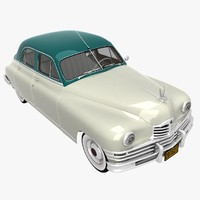 packard sedan 1948 3d 3ds