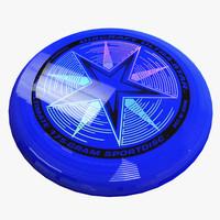 frisbee modeled 3d model