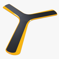 3dsmax tri boomerang