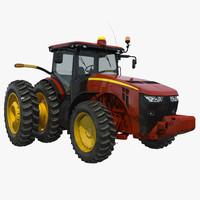3d model tractor generic 3