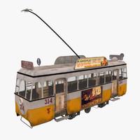 3dsmax old tram seville