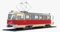 3d tatra t3 tram