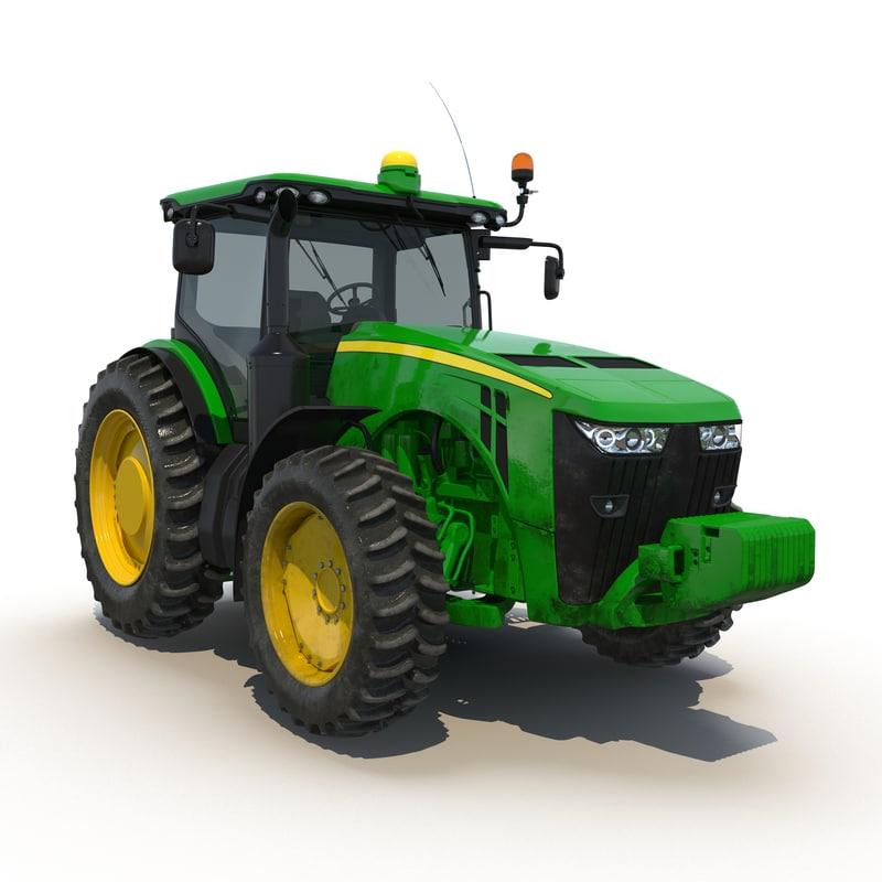 3ds model of Tractor Generic 01.jpg