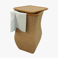 max realistic wicker basket