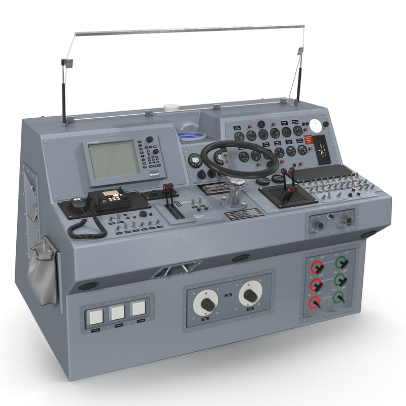 Military Boat Control Panel 3d model 01.jpg