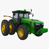 3d model tractor john deere 8285r