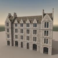 3d model europe european building