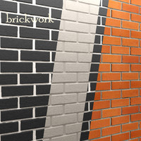 3ds max bricks wall