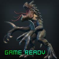 3d kaiju games model
