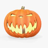 fbx halloween pumpkin