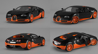bugatti veyron sport 3d model