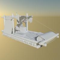 3d raft blender