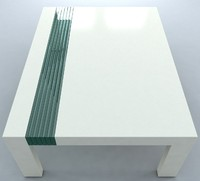 max contemporary coffee table glass