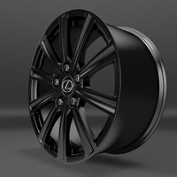 lexus wheel2 3ds