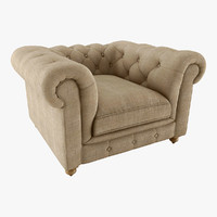 3d kensington chair model