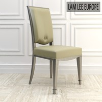 chair dining elegant 3d model
