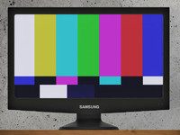 samsung tv 3d obj