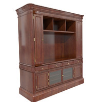 walnut display cabinet 3ds