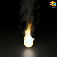 Fire for Blender cycles