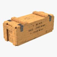 ammo crate 3 3d model