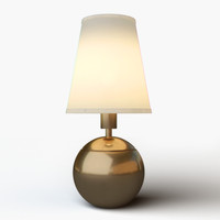 3d model lamp light