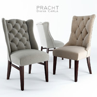 3d pracht dining chair carla model