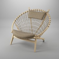 circle chair hans j max