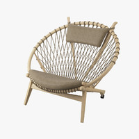 3d max circle chair hans j