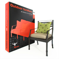 furniture outdoor 3d max