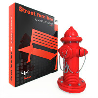 signal warning 3d model