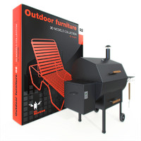 3d model furniture outdoor