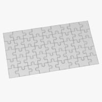 3d puzzles model