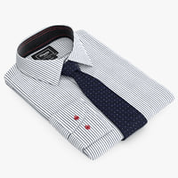 shirt tie 3d max