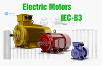 72 CAD Models - Electric Motors IEC B3