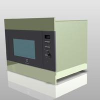 3d oven viz kitchen model